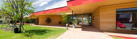 Zettling-45 Kindergarten - red - Arch Kos - Foto (c) Philipp Klein